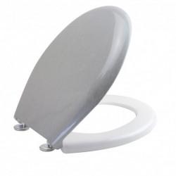 Sedile WC alluminio -...