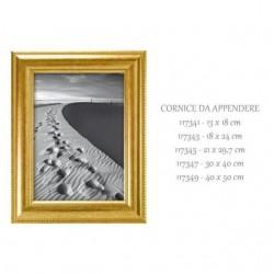 Cornice 13x 18 dorata - FAR