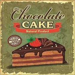 Quadretto 16x16cm CAKE -...