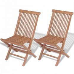 Set sedie pieghevoli da...